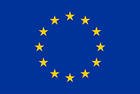 The EU flag - Blue with a circle of gold stars